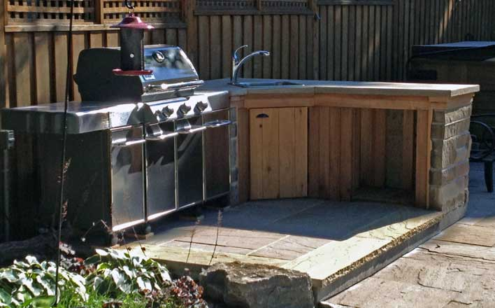 Outdoor Kitchen BBQ